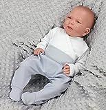 Baby Hose mit Fuß Stramplerhose für Jungs, 5er Pack, verschiedene Farbe - 2
