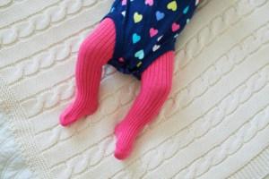 Strumpfhose für das Baby