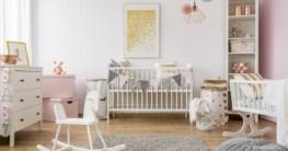 Babyzimmer mit Laufgitter