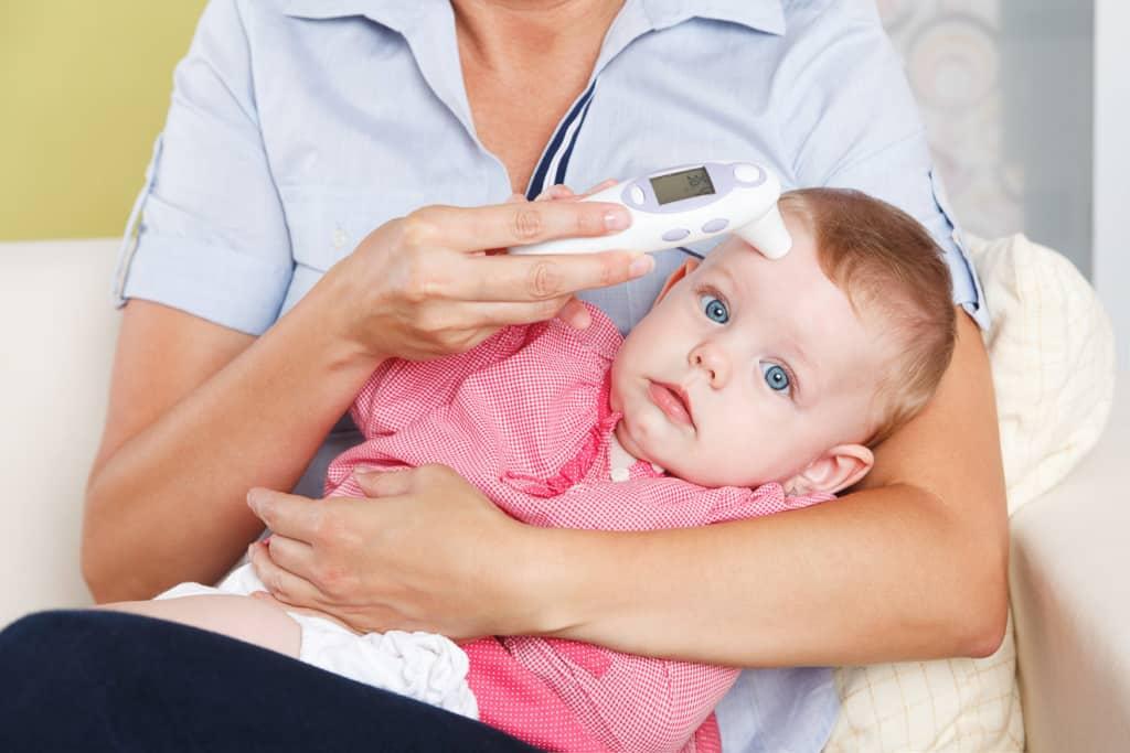 Fieberthermometer für das Messen an der Stirn