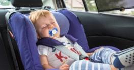 Kinder Sonnenschutz für das Auto
