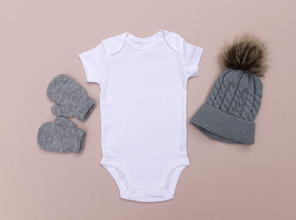 Kleidung für Babys im Winter